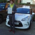 Callum passes his driving test